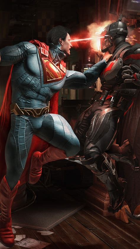 wallpaper superman batman injustice  fight  games