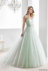 Nicole jolies collection 2016 colored wedding dresses for Colored wedding dresses 2016