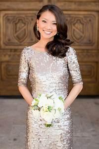 gold sequin bridesmaids dress elizabeth anne designs With gold sequin wedding dress