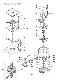 gaggia  baby parts diagram   mechanical art