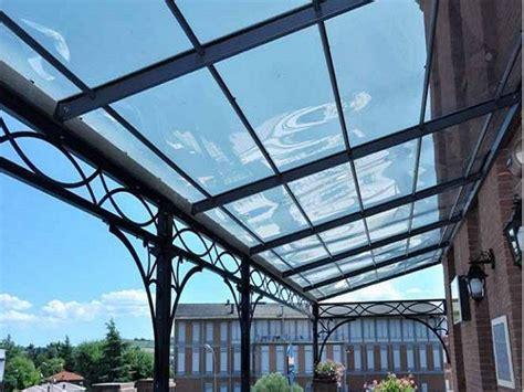 coperture per terrazzi in ferro copertura in policarbonato trasparente per terrazzi