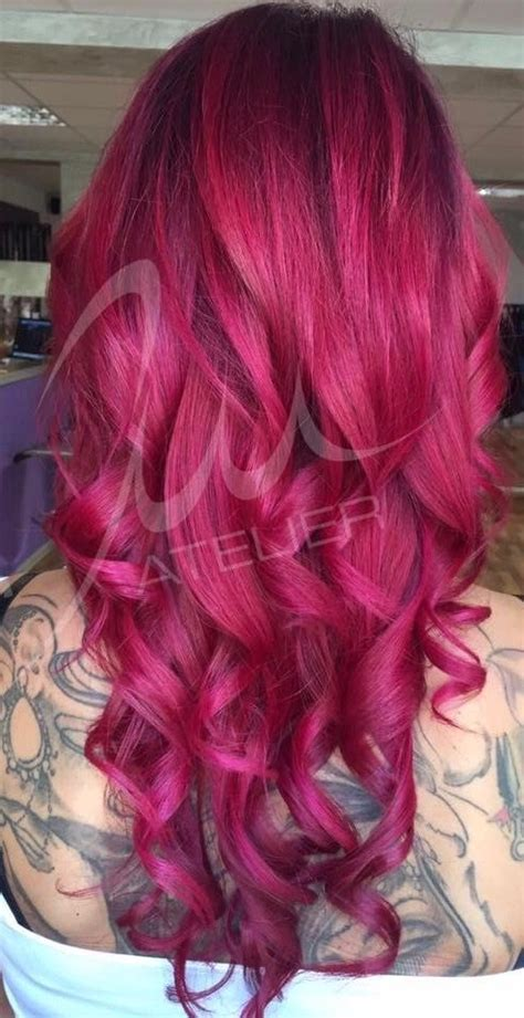 ideas  magenta hair  pinterest magenta