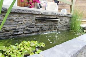 Lame D Eau Bassin : am nagement de bassin cascade et lame d 39 eau en eure et ~ Premium-room.com Idées de Décoration