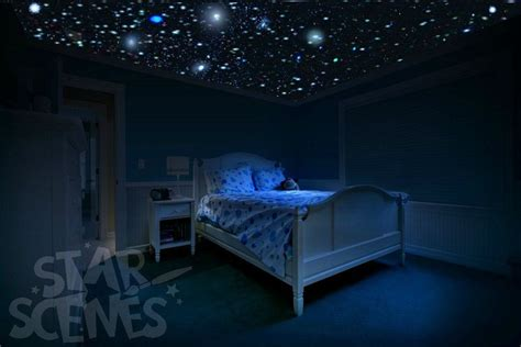 Glow In The Bedroom by Glow In The Stickers Diy Ceiling For
