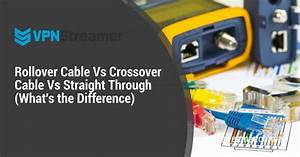 Rollover Cable Vs Crossover Cable Vs Straight Through