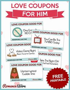 love coupons for him free printable romancewire With sex coupon template