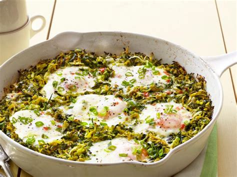 food network the kitchen recipes skillet eggs with squash recipe food network kitchen