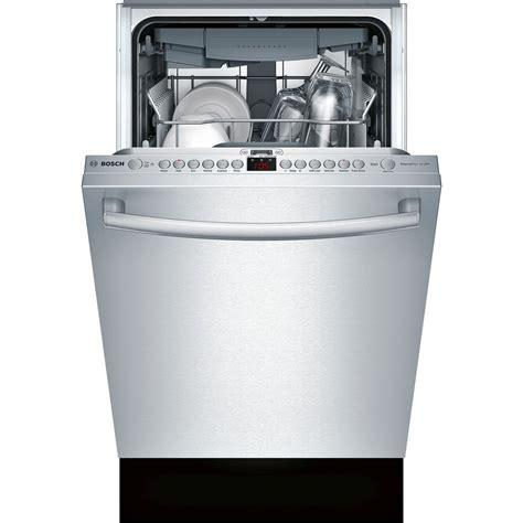 Bar Dishwasher by Spx68u55uc Bosch 800 18 Quot Bar Handle Dishwasher