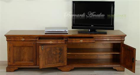 mensola per tv porta tv legno vecchio 2 porta tv