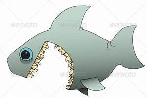 Evil Cartoon Shark