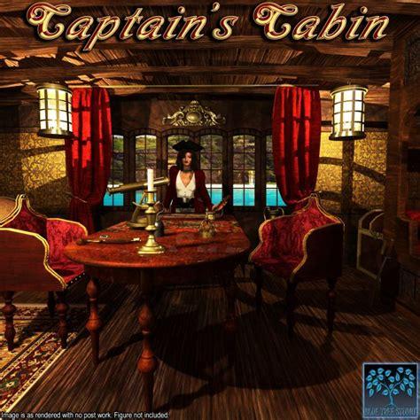 captains cabin props  poser  daz studio
