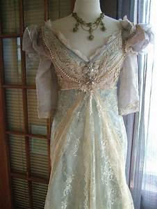 original handmade vintage inspired cinderella quotever after With victorian inspired wedding dresses