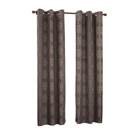 sun zero chocolate tina thermal lined grommet curtain