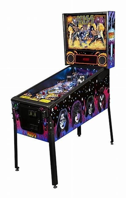 Pinball Machine Kiss Rental Party