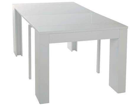 table console extensible conforama console extensible l 270 cm max peninsule coloris blanc vente de console conforama