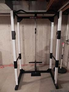 Weider Pro Xt75 Power Cage With Upright  U0026 Lower Pulley System