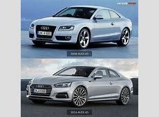 2008 Audi A5 vs 2016 Audi A5 Design Comparison Car