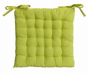 Coussin De Chaises : galette de chaise en coton uni 40 cm 25 points ~ Teatrodelosmanantiales.com Idées de Décoration