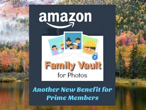 amazon family vault     benefit