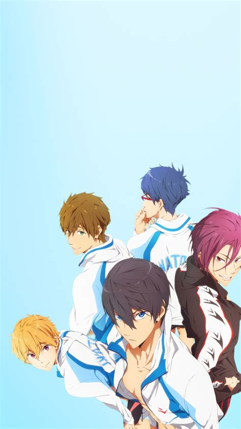 Free Anime Iphone Wallpaper - animated boys free iphone 5 backgrounds more anime