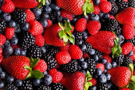 Blueberries Berries Strawberry Raspberry Blackberry Hd