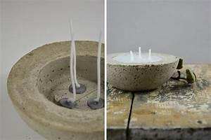 Betonoptik Boden Selber Machen : diy kerzen selber machen mit beton und wachs mxliving ~ Michelbontemps.com Haus und Dekorationen