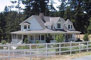 Country farmhouse plans with wrap around porch for Country house with wrap around porch floor plans