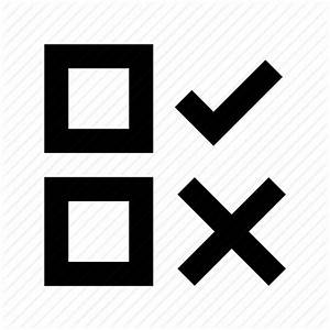 Cross, no, tick, voting symbol, yes icon | Icon search engine