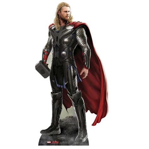 marvel avengers age of ultron thor cut out merchandise