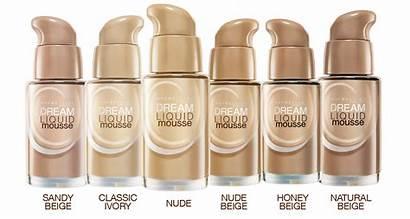 Mousse Liquid Dream Maybelline Foundation Airbrush Shades