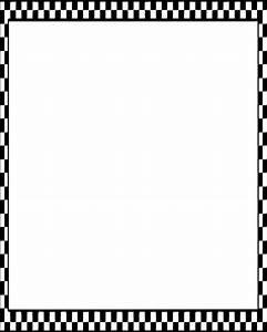 378x472 Checkered Border Clip Art - Vector Clip Art Online ...