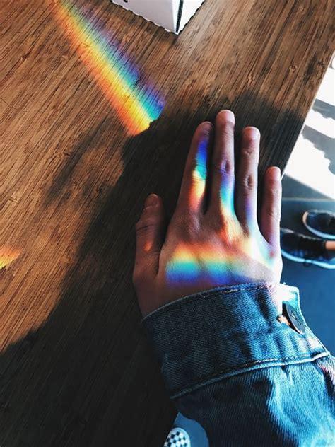 te  preguntado como se hacen los arcoiris en las fotos