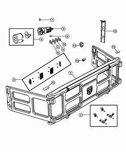 Dodge Ram 1500 Bumper Kit  Truck Bed Divider   Plastic
