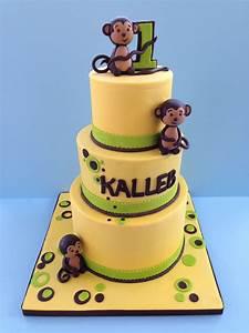 monkey birthday cake template - monkey theme first birthday