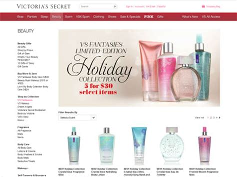 And Bath Collection Website by S Secret Vs Fantasies Collection Bath