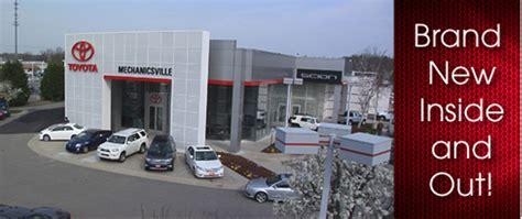 Toyota Mechanicsville by Mechanicsville Toyota New Toyota Dealership In