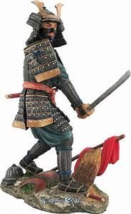 Japanese Samurai Figures and Statues - Samurai Akira Resin