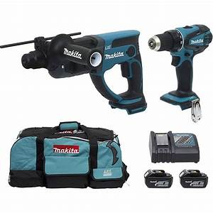 Perforateur Makita Sans Fil 36v : makita perforateur visseuse sans fil 18 volts dlx2032 ~ Premium-room.com Idées de Décoration