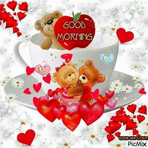 Hugging Teddy Bear Good Morning Gif Pictures, Photos, and ...