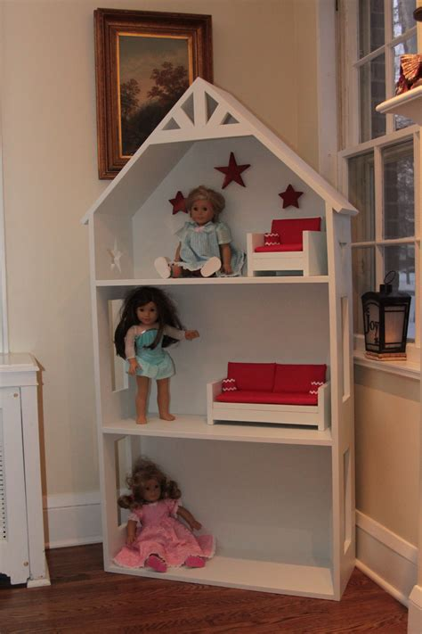 ana white american girl doll house diy projects
