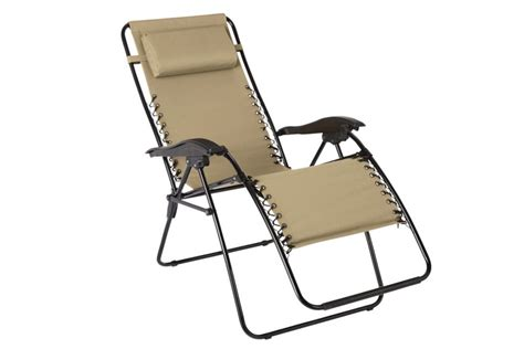 chaise haute multiposition unbranded multi position zero gravity chaise in beige
