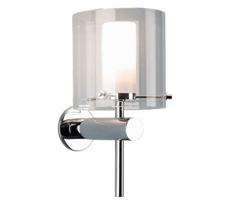 astro arezzo bathroom wall light polished chrome finish