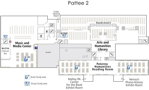 floor plans psu university park libraries floor maps penn state university libraries