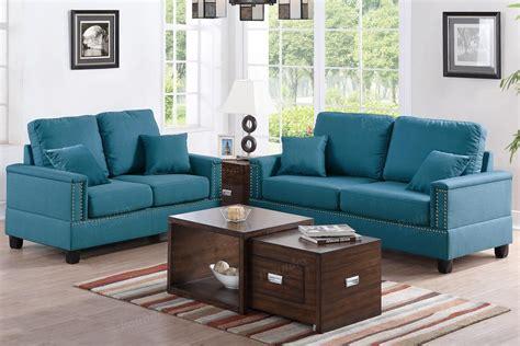 Sofa Set Fabric by Blue Fabric Sofa And Loveseat Set A Sofa Furniture