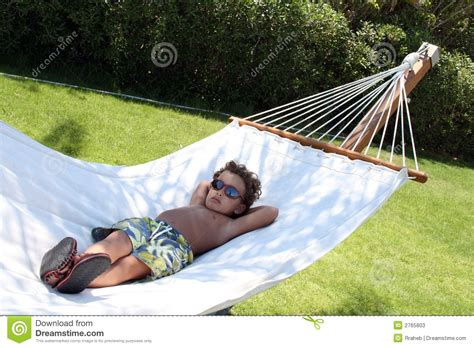 Relaxing On Hammock by Cool Kid Relaxing Hammock Stock Image Image Of