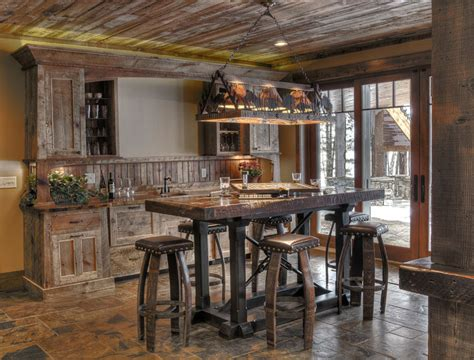 nautical kitchen cabinet 16 esempi di angolo bar in casa con arredamento rustico