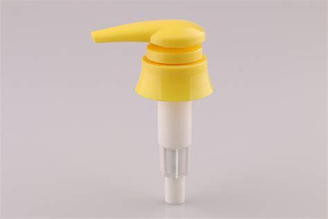 Yellow Soap Dispenser Plastic Bottle Lotion Pump Tops