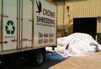 dumping paper at recycling center crowe shredding With document shredding hagerstown md