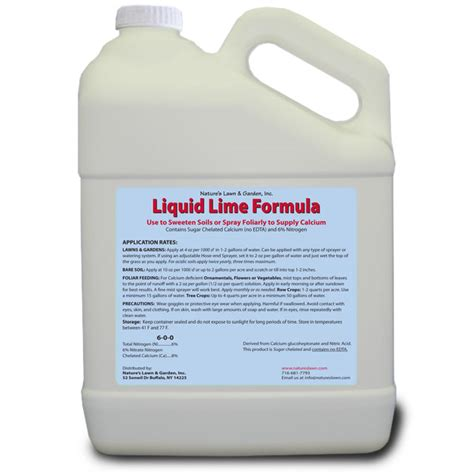 liquid lime  lawn natures lawn  garden