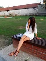 Naked latina teens wearing sandals
